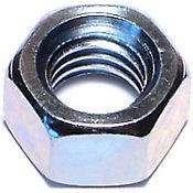 Tuercas hexagonales terminación gruesa zinc 3/8-16 8 pzs.