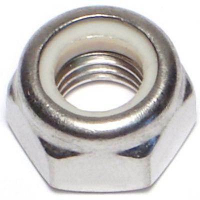 Tuerca de fijación acero Inox. inserto de nylon 12mm-1.75 1 pz.