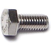 Tornillo cabeza hexagonal acero Inox. 5mm -0.8 x 10mm 1 pz.
