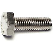 Tornillo cabeza hexagonal acero Inox. 10mm -1.50 x 30mm 1 pz.