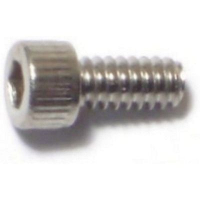 Tornillo cabeza Allen acero Inox. 4-40 x 1/4 1 pz.