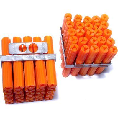 """Anclajes tornillos expandidos de vinilo 3/8"""" x 2-1/2"""" 100 pz"""