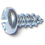 Tornillos combinados de zinc cabeza p/metal 8 x 3/8 18 pzs.