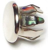 Tapa redondas resorte para muebles zinc 5/8