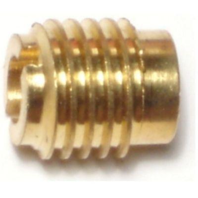 Inserto para madera de bronce 10-32 1 pieza