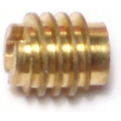 Inserto para madera de bronce 4-40 1 pieza