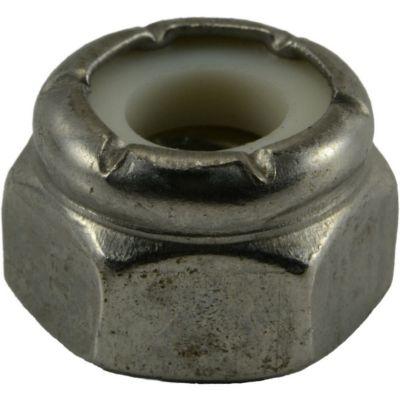 Tuercas gruesas inserción nylon y acero Inox. 1/4-20 100 pzs.