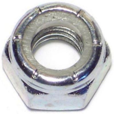 Tuercas gruesas inserción nylon y zinc 5/16-18 100 pzs.
