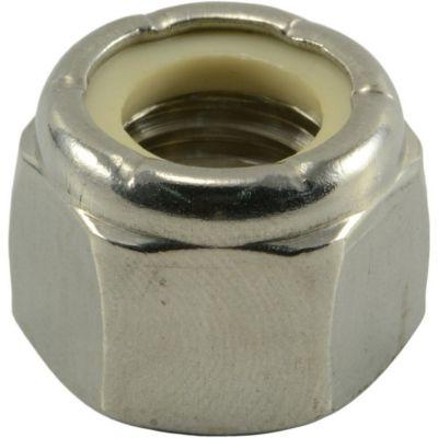 Tuercas gruesas inserción nylon y acero Inox. 1/2-13 25 pzs.