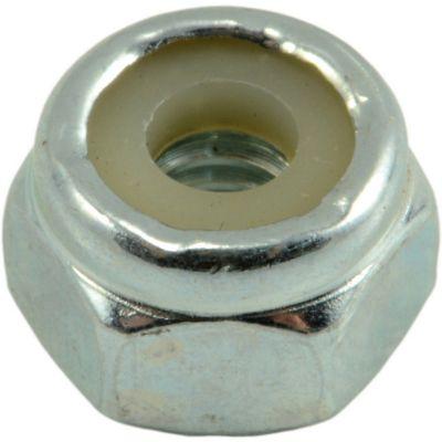 Tuercas gruesas inserción nylon y zinc 8-32 8 pzs.