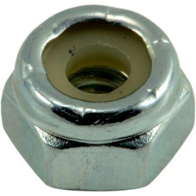 Tuercas gruesas inserción nylon y zinc 10-24 6 pzs.