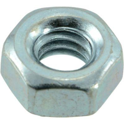 Tuercas hexagonales terminación gruesa zinc 1/4-20 12 pzs.