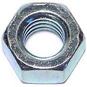 Tuercas hexagonales terminación gruesa zinc 5/16-18 10 pzs.