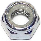 Tuercas gruesas inserción nylon y zinc 5/16-18 4 pzs.
