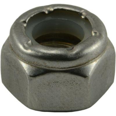 Tuercas gruesas inserción nylon de acero Inox. 5/16-18 2 pzs.