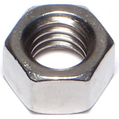 Tuercas hexagonales terminación gruesa acero Inox. 3/8-16 3 pzs.