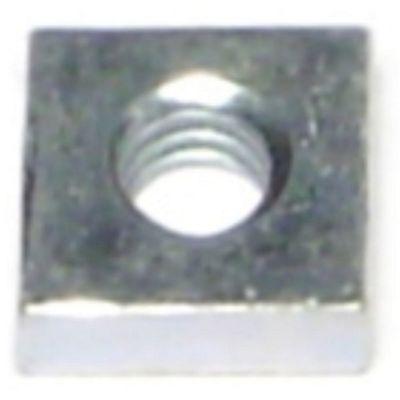 Tuercas cuadrada zinc 8-32 4 pz.