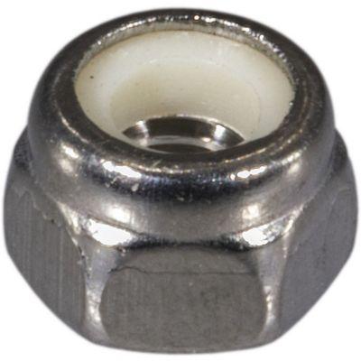 Tuerca de fijación acero Inox. inserto de nylon 4mm-0.70 1 pz.
