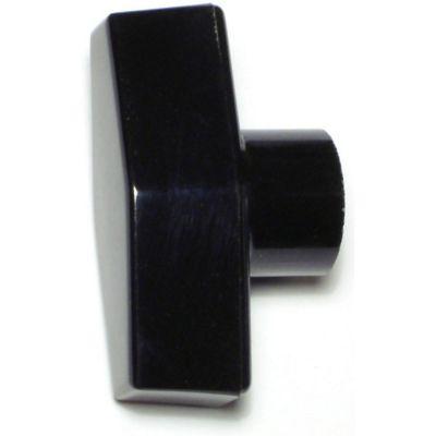 Tuerca de perilla de barra zinc 5/16-18 1 pz.