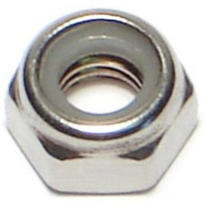 Tuerca de fijación acero Inox. inserto de nylon 6mm-1.00 1 pz.