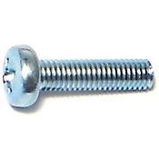Tornillos sin fin zinc cabeza 3mm-.5 x 12mm 8 pzs.