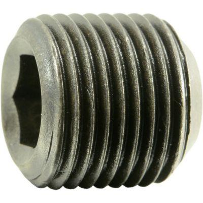 Tornillo cabeza socket hexagonal fino óxido negro 15.90mm-18 x 15.90mm 1 pz