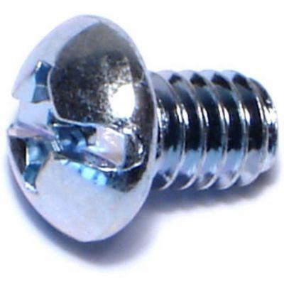 Tornillos sin fin redondos zinc 1/4-20 x 3/8 100 pzs.