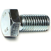 Tornillos cabeza hexagonal de 8.8 de zinc 12mm-1.75 x 25mm 25 pzs.
