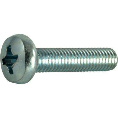 Tornillos sin fin de zinc cabeza 8mm-1.25 x 35mm 3 pzs.