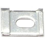 Clip para panel de puerta aluminio 1 pieza