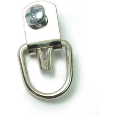 Colgadores giratorios c/tornillos de zinc 6 pzas