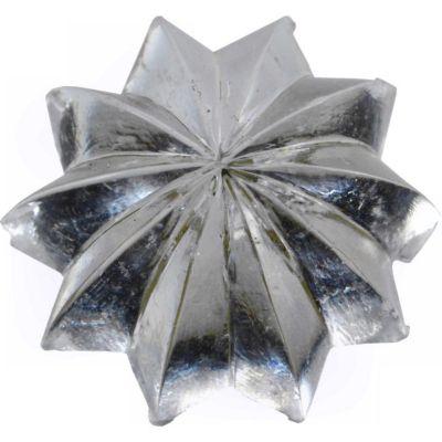 Herraje p/espejo capullo transparente plástico 3-48 1 pza