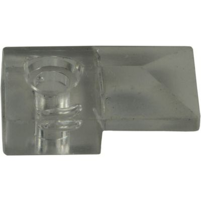 Gancho de espejo plástico transparente