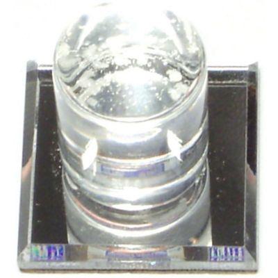 Perilla p/espejo  acrílico trasparente 1 pza
