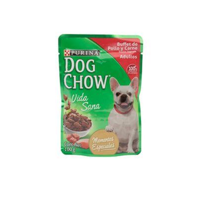 Alimento para perro adulto pollo y carne 100 g