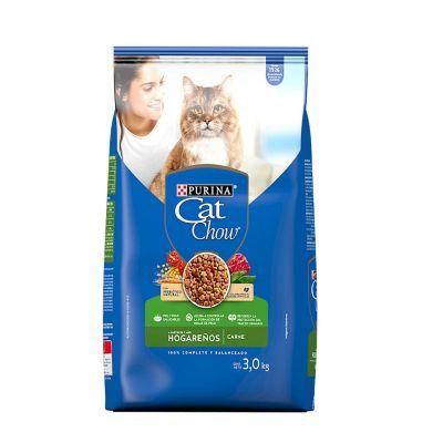 Alimento p/gato hogareño relleno aves 3 kg