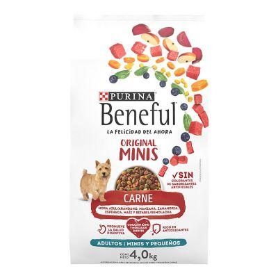 Alimento p/perro adulto minis razas pequeñas 4 kg