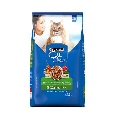 Alimento p/gato hogareño relleno aves 1.5 kg