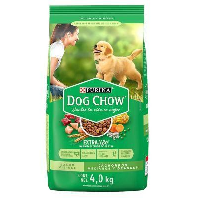 Alimento p/perro cachorros 4 kg