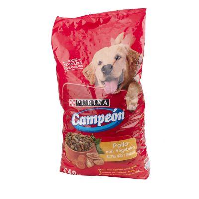 Alimento p/perro adulto pollo 4 kg