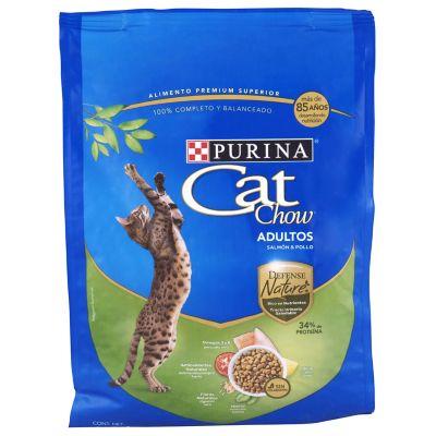 Alimento Gato Nature Defense pollo/Salmón 1.3kg