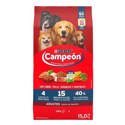 Alimento p/perro adulto carne 1.5 kg