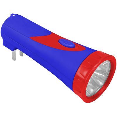 Mini linterna recargable alta resistencia 4 LEDs campismo/hogar/automotriz