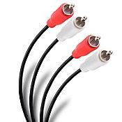 Arnes con2 plugs RCA a 2 plugs RCA  7.50 m