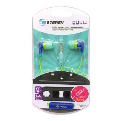 Audífonos manos libres con goma de silicón