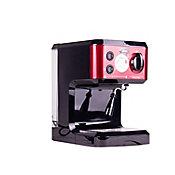 Máquina de Café Roja Con Negro para 1.2 Litros