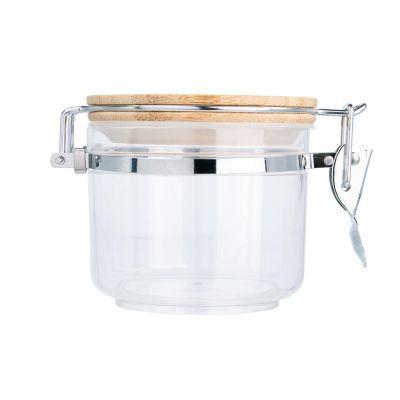 Contenedor c/tapa de bambú 400 ml