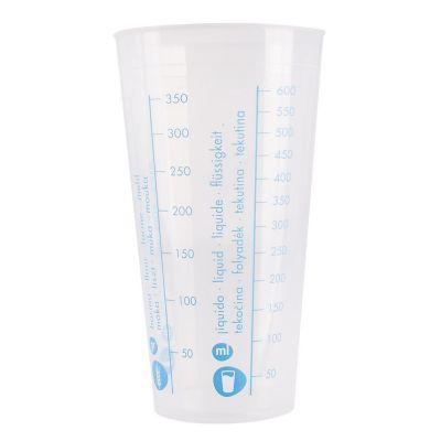 Vaso graduado 750 ml de plástico