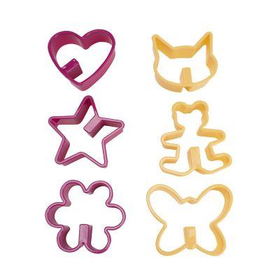 Set de cortadores de galleta para taza 6 piezas