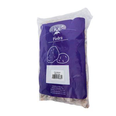 Grava de mármol blanco 2 kg
